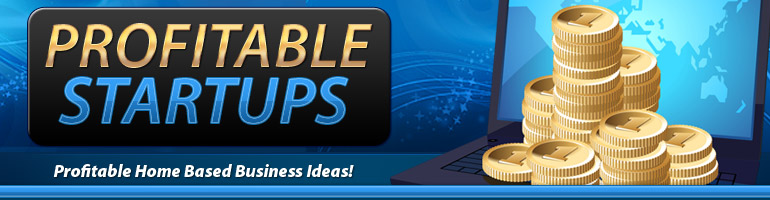PLR Ebook -Profitable Startups: Profitable Home Based