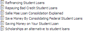 25 PLR Student Loans Quailty Articles