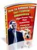 Achieve Your Own Financial Independence PLR Ebook
