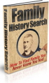 Family History Search PLR Ebook
