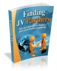 Finding JV Partners