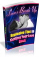 Getting Your Love Back PLR Ebook
