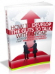 Guts To Talk With Anyone PLR Ebook