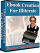 Illiterate PLR Ebook