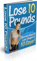 Lose 10 Pounds PLR Ebook