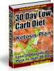 PLR Ebook For Low Carb Diet Ketosis Plan