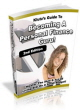 Personal Finance PLR Ebook