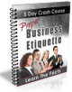 PLR Proper Business Etiquette Ebook