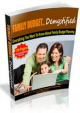 The Family Budget Demystified PLR Ebook