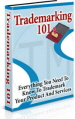 Trademarking 101 PLR Ebook