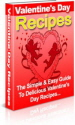 Valentine's Day Recipes PLR Ebook