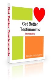Get Better Testimonials