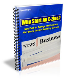 Why Start an E-zine