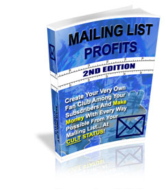 Mailing Lists Profits