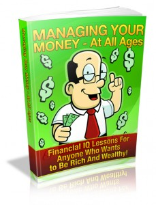 Managing Your Money - At All Ages