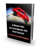 A Worry-free Car Care Manual For Every Driver! MRR Ebook