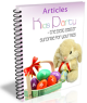 Best easter surprise for your kids PLR Ebook