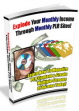 Explode Your Monthly Income Through Monthly PLR Sites! PLR Ebook