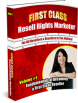 First Class Resell Rights Vol.1 Ebook