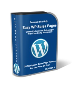 Easy Wp Sales Pages