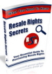 Resale Rights Secrets Ebook