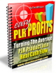 The Easy PLR Profits Ebook