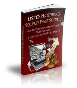List Exploding Squeeze Page Secrets