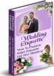 Wedding Etiquette PLR Ebook