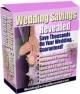 Wedding Savings Revealed PLR Ebook