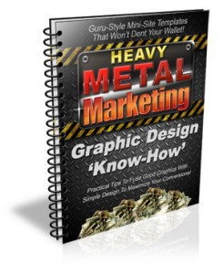 Heavy Metal Marketing - Quality Guru-Style Minisite Templates!