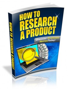 How To Research Profitable Products