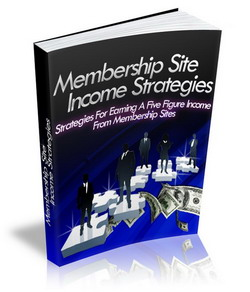 Membership Site Income Strategies