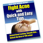Fight Acne With Quick And Easy Tips