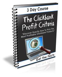 Clickbank Profit Criteria