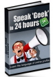 Speak Geek PLR Language Ebook