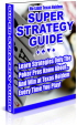 Super Strategy Guide PLR Ebook