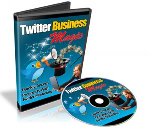 Twitter Business Magic PLR Video