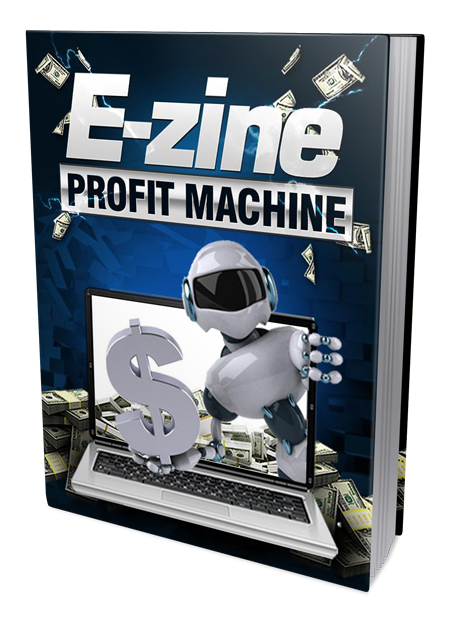PLR E-Zine Profit Machine Ebook