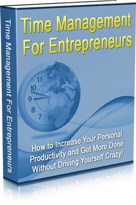 PLR Time Management Entrepreneursnew