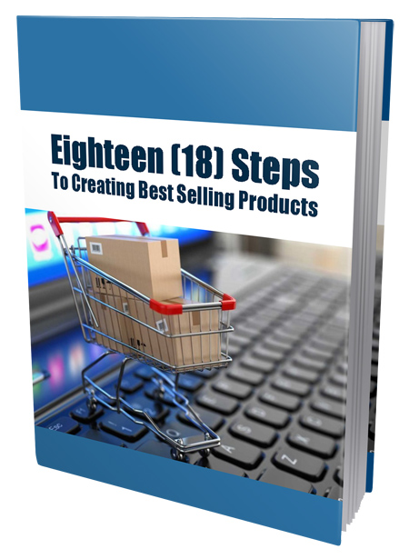 PLR Eighteen Steps To Creating Best Selling Products