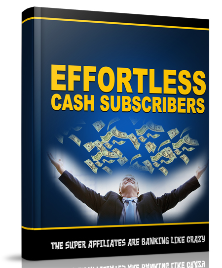 MRR Effortless Cash Subscribers