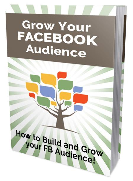 PLR Grow Your Facebook Audience