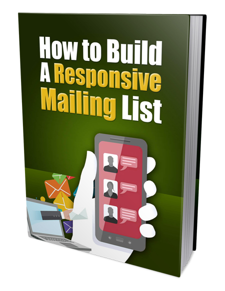 PLR Build Responsive Mailing List