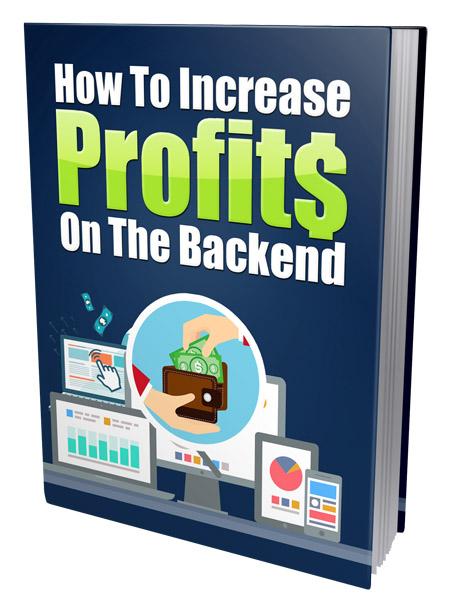PLR Increase Profits Backend
