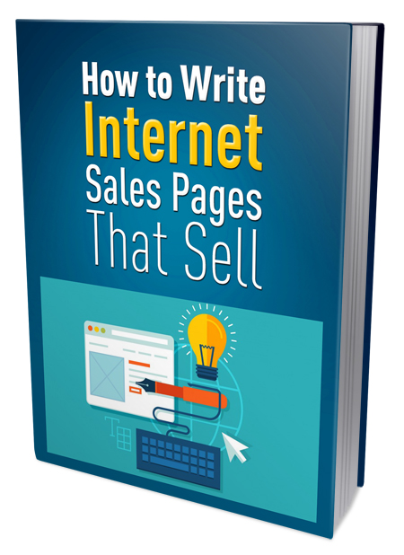 PLR How to write Internet Sales Pages
