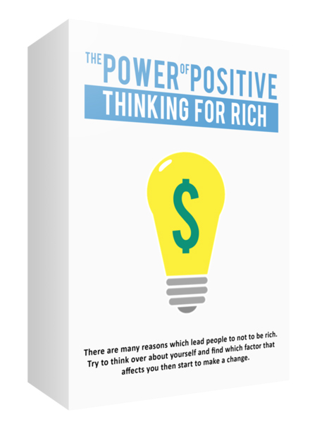 MRR The Power of Positive Thinking For Rich