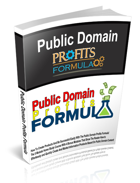 MRR Public Domain Profits