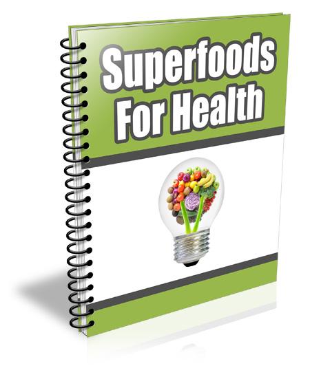 PLR Super Foods for Health