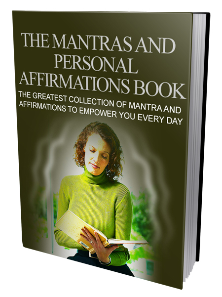 MRR The Mantras And Personal Affirmations Book