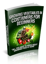 RR Growing Vegetables In Containers For Beginners